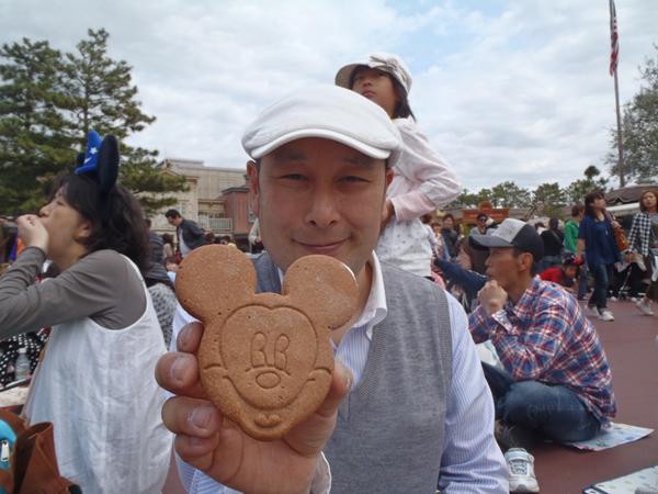 ミッキーマウスアイスクリームと加賀屋さん